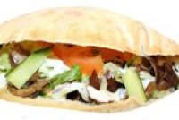 Rønde Rulle med Kebab